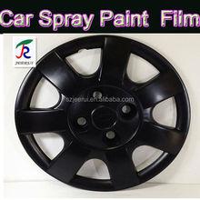 Matte black white orange yellow sky blue green purple pink/heat resistant stretch oil acrylic latex rubber spray paint/gallon