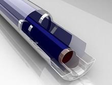 2014 nuevo estilo triple- objetivo de plata titanio tubo de vacío para el calentador de agua solar