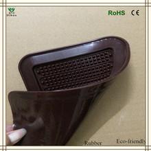 High temperature eco-friendly material popular design anti-slip rubber mat