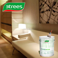 3TREES PU Wood Lacquer Clear Transparent Finish For Furniture