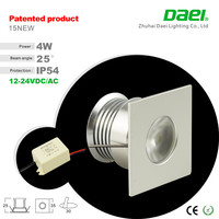 Free shipping Indoor recessed DC12V 4W Mini led cabinet light