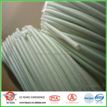 high silica fiber tube/high silica fiberglass casing/heat resistant/coat silicone,teflon/ high temperature insulation