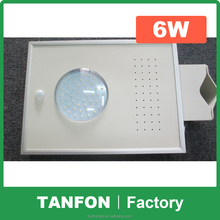 2015 Manufacturer Supply Top Selling All in One Integrated 8-60W Solar LED Street Light with Motion Sensor