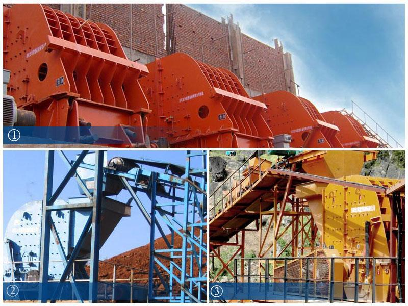 High manganese steel casting impact plate for impact crusher