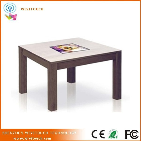 Coffee Table With Multi Touch Surface For Coffee Shop Or Tea House