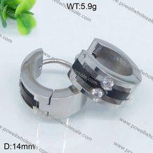 Alibaba Cute Design Very Pricehoop huggie cz paved heart shaped earrings