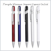 Durable using low price logo metal ball point pen