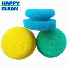 Round Sponge Scrub pad/Kitchen Cleaning Sponge