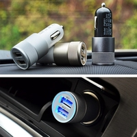 Brand New 12/24V Replacement Double USB Ports Universal Car Charger For Iphone For Samsung