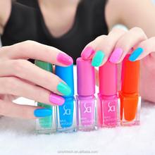 5 Bottles New Vogue Candy Color Gel Nail Polish Nail Polish Set Women Beauty Nail Makeup Tools Nail Art