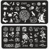 2015 newest Design DIY Stamping Nail Art Image Plates