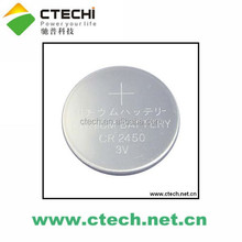 3V CR2450 lithium button cell battery