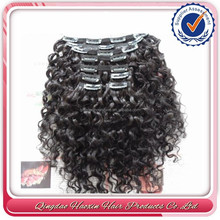 Best selling products in america distributors wanted peruvian afro curly clip in hair extension for black women