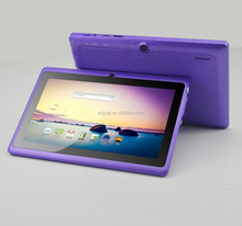 "Free tablet firmware TF card saved, quad-core 7"" tablet with barcode reader"