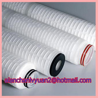10'' 20'' 30'' PES pleated cartridge/0.2 micron water filter