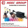 auto Motors led powered security headlights DC 12-32V LEDcustom car headlight kit