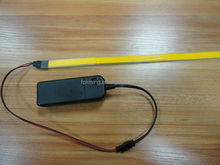 Electroluminescent EL Wire Tape with 2AA battery driver