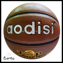 promotional Cheapest genuine leather basketball