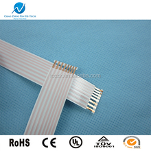 cable manufacturers Direct selling GuangdongFFC cables white FFC flat flexible cable