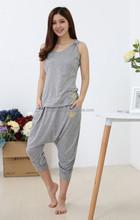100% Cotton Plain Knitted Jersey Women Hoodie, Ldaies Fitness&Yoga Wear