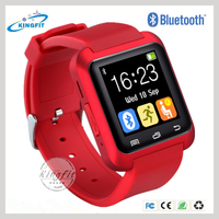 New products 1.5 inch stainless steel touch screen wrist smart watch U8 plus for apple phone on alibaba china