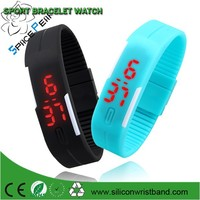 Hot Fashion Men Candy Silicone Strap Touch Square Dial Digital Bracelet LED Waterproof Sport Wrist Watch Women Kids Watches