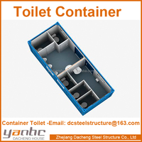 Modular mobile container Sanitary with bathroom toilet