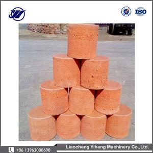 Chine Fabrication prix pompe à Béton Nettoyage Cubes dans un matériau en caoutchouc sur vente