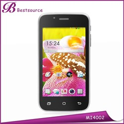 4inch WVGA 800*480 bluetooth city call android phone