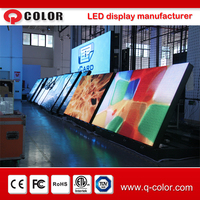 hot sale outdoor waterproof front access led billboard advertising led display for video