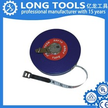 China Factory Wholesale Low Price PVC Fiberglass Round Retractable Tape Measure 100 Meter