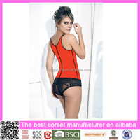 In Stock High Quality Latex Back Support Body Shaper Corsets