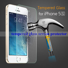 Factory direct sale best tempered glass screen protectors for iphone 5 5S 5C