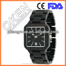 Alta calidad impermeable 3ATM logo privado Mens Fashion reloj Bamboo