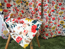 printing Linen/cotton fabric curtain jacquard fabric