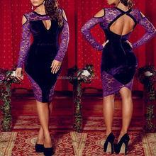 Hollow out adult lady girls party dress/women's evening dress/fat size women party dress