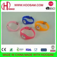 Cheap custom logo design silicone watch / Beauty silicone kids watch