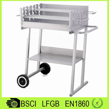 BQ14008 Outdoor / Garden Kart Bbq Grils / House Gate Grill Designs