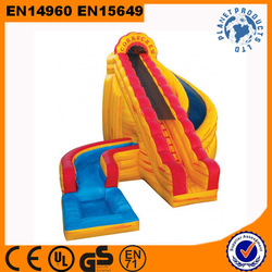 Giant High Quality Inflatable Hurricane Water Slide For Sale