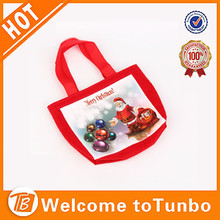 Santa claus decorative gift bag custom shape personalized christmas ornaments