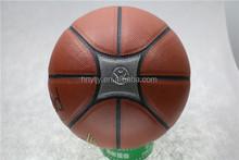 durable high school /university pu material basketball