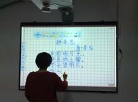 Smart board interactive whiteboard for mini classroom