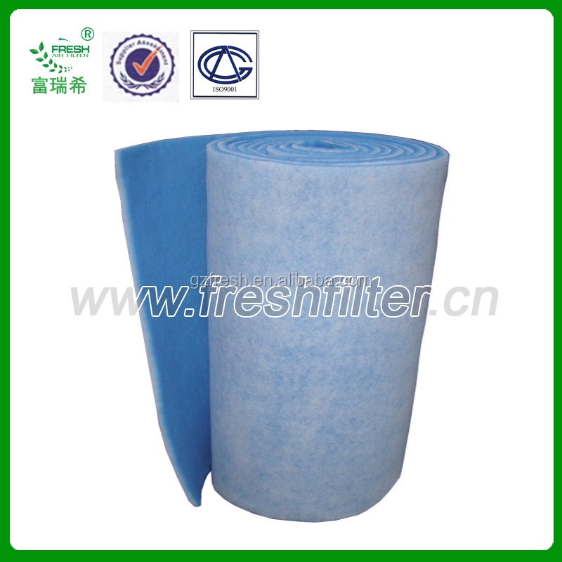 Blue white intake filter cotton paint booth filter buy for Paint booth intake filters 20x20
