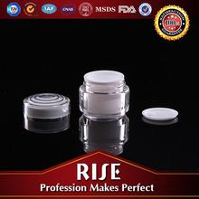 2012 New Product Unique and Innovation Shape Acrylic Cream Jar For Facial Care/Wrinkle Care