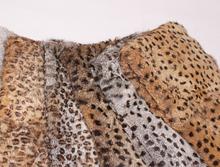 Natural Rabbit Fur Plates / Real White Rex Rabbit Fur Skins For Sale