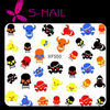 New easy DIY halloween nail art stckers, halloween nail stickers