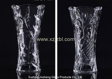 Glass vase manufacture