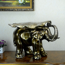 Lowest Price Elephant Room Decor Embellishment Art For Living Room With Bronze