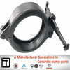 Concrete pump parts, Forging Schwing Coupling, MF 125 5' Wedge