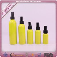 fragrance packing 30ml perfume aluminum bottle with matched sprayer